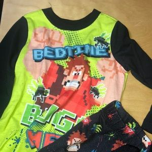 Wreck it Ralph pajama set